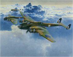Handley Page Hampden B.Mk I. Ilustración de Shigeo Koike. http://www.elgrancapitan.org/foro/viewtopic.php?f=52&t=17924&p=918075#p917802