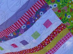pretty free motion quilting design