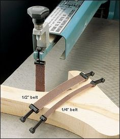 Sanding Belts for Scroll Saws - Woodworking #WoodWorkingTools