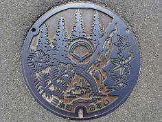 Miki Kagawa, manhole cover (香川県三木町のマンホール)   Flickr - Photo Sharing!