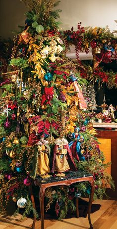 Stunning color and the true meaning Christmas make this tree remarkable!