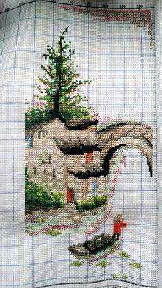 Halfway to my spring pattern. My Spring, Pattern, Handmade, Hand Made, Patterns, Craft, Model, Vorlage