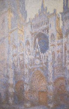 ART & ARTISTS: Claude Monet (Rouen Cathedral)
