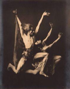 Nijinsky and Pavlova, 1918 Frans Van Riel