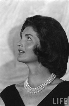 Jackie Kennedy Date taken:1960 Photographer:Edward Clark  ✿♡❁♡✾♡✽♡❃  http://en.wikipedia.org/wiki/Jacqueline_Kennedy_Onassis