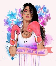 Imagem de girl, fight, and nike