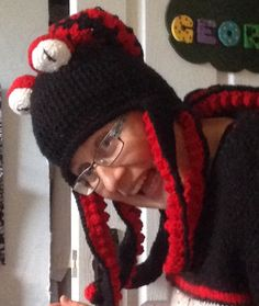Help there's an octopus on my head!