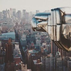 What an amazing view of New York City from the Chrysler Building #NYC #NewYorkCity #Chrysler #views