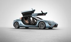 912 horsepower QUANT e-sportlimousine runs exclusively on salt water - designboom | architecture