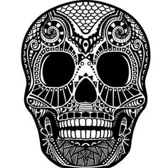 Find Skull Ornament stock images in HD and millions of other royalty-free stock photos, illustrations and vectors in the Shutterstock collection. Sugar Skull Tattoos, Sugar Skull Art, Sugar Skulls, Dark Artwork, Framed Artwork, Bleach Art, Cute Coloring Pages, Mural Art, Free Vector Art