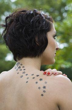 Stars tattoo                   Art