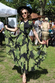 The Jazz Age Lawn Party Was a Marvel of '20s-Inspired Dresses, Hats and Hair - Fashionista