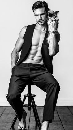 Adam Cowie Male Model, Men's Fashion, Underwear, Swimwear, Muscle, Beard, Shirtless, Eye Candy, Handsome, Good Looking, Pretty, Beautiful, Sexy 男性モデル メンズファッション アンダーウェア 下着 スイムウェア 水着