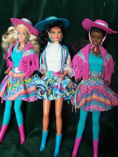 Western Style Barbie, I had the blonde one and still do.