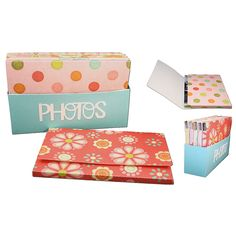 3d photo storage box and sleeves