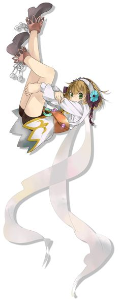Leia from Tales of Xillia
