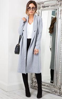 Knee long coat for winter  winter fashion #winterfashion