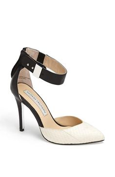 Fab! Chinese Laundry Kristin Cavallari Black + White Pump