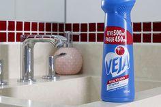 Veja multiuso, produto de limpeza, cozinha, banheiros