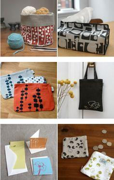 textiles from Lotta Jansdotter