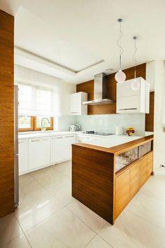 Nowoczesna Brązowa Kuchnia / Modern Brown Kitchen.