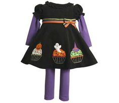 Purple & Black Halloween Dress