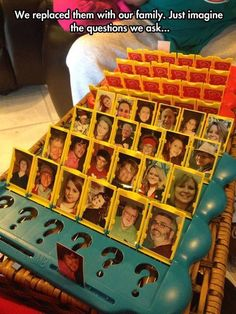 DIY Guess Who games cool diy craft crafts craft ideas diy ideas diy crafts fun crafts kids crafts life hacks family crafts fun ideas Minion Party, Bad Drivers, Back In The 90s, Getting Drunk, Family Games, Fun Games, Party Games, Funny Pictures, Family Pictures
