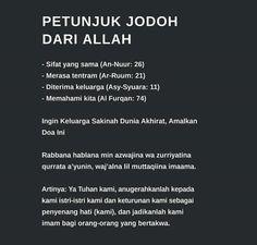 Hadith Quotes, Muslim Quotes, Quran Quotes, Self Quotes, Words Quotes, Life Quotes, Reminder Quotes, Self Reminder, Jodoh Quotes