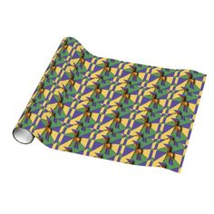 Folk Art Horse Wrapping Paper #horses #art #gifts #wrapping #paper And www.zazzle.com/tickleyourfunnybone*