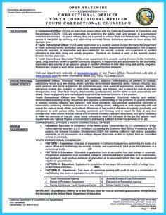 Awesome Perfect Correctional Officer Resume To Get Noticed,