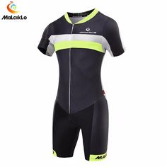 Malciklo Triathlon Suit Men Cycling Clothing Pro Team Skinsuit Jumpsuit  Maillot Cycling Jersey Sets Ropa Ciclismo 63489470c