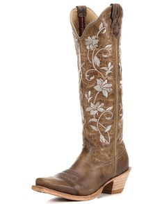 Women's Steppin' Out Tall PWS Toe Boot - Oiled Bomber / Oiled Bomber Twisted X boots