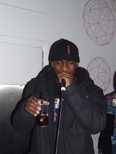 Skepta performing. No glitzy stage design. Real and raw.