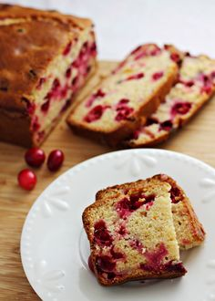 Cranberry Orange Bread recipe -- a flavor-packed quick bread that's easy to wrap up and give as a Christmas gift for someone special
