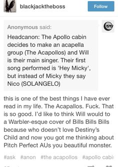 Solangelo. Hey Nico you're so fine