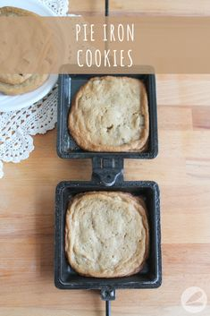 These pie iron cookies are an easy and tasty treat to make while camping. Check out the recipe and find tips for perfect pie iron cookies. Camping Cooker, Camping Meals, Camping Recipes, Camping Tips, Backpacking Food, Tent Camping, Glamping, Ultralight Backpacking, Rv Tips