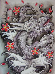 tattoo art: Chinese Dragon Tattoo Designs