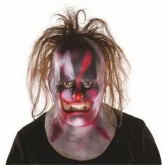 Slipknot Clown Full Mask W/ Hair Slipknot Mask
