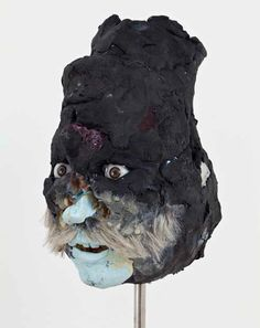 David_Altmejd ~ This looks like a mask made from someone's face!