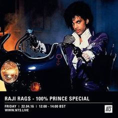 Raji Rags (Prince Tribute) - 22nd April 2016