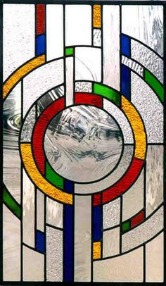 easy stained glass patterns abstract - Google Search