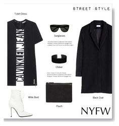 """""""Pack for NYFW"""" by brccz ❤ liked on Polyvore featuring Calvin Klein Jeans, Yves Saint Laurent, Miss Selfridge, ASOS, Yang Li and NYFW"""