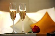 Champagne, a drink served to implicate a romantic evening dinner along with of course wine and other alcohol drinks