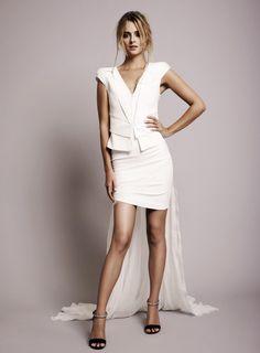 b4263ed888f0 19 Sweetest Short Wedding Dresses You ll Love. Biele Svadobné ŠatyKrátke ...