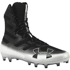 Under Armour Highlight Mc Football Cleats - Mens Black Black Mens Football Cleats, Men's Football, Rogan's Shoes, Highlight, Under Armour, Footwear, Pairs, Black, Lights