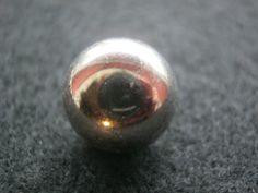 25 Stück Metalknöpfe mit Öse,Silberfarben,halbe Kugel,Durchmesser ca.13 mm,Neu,Lübecker Knopfmanufaktur von Knopfshop auf Etsy