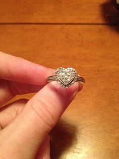My beautiful promise ring