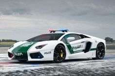 luxury police cars in Dubai