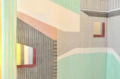 textile designer Wies Preijde / via Art Hound