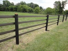 Brown High Impact horse fencing